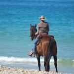 balade à cheval proche de la mer - Ranch de Calamity Jane - Languidic Morbihan