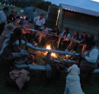 soirée feux de bois