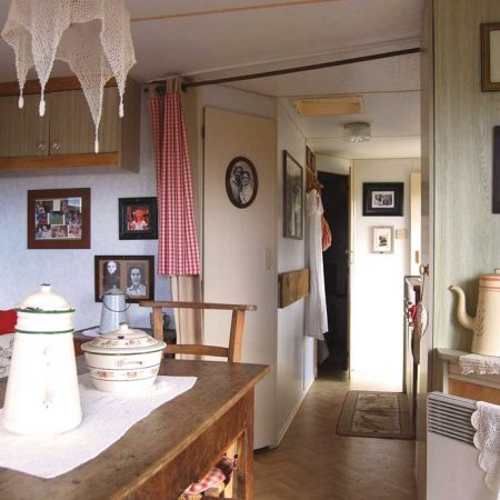 Salon hôtel gîte - Ranch de Calamity Jane - Tipis d'hôtes Languidic Morbihan